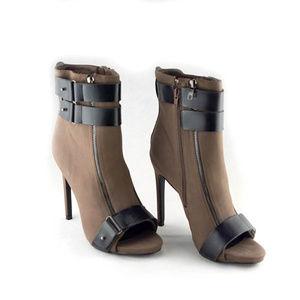 NEW! 8.5 Peep Toe Boots